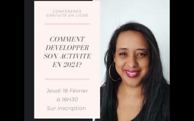 UNE INVITATION POUR LA CONFÉRENCE DU 18 FÉVRIER 2021 A 18:30